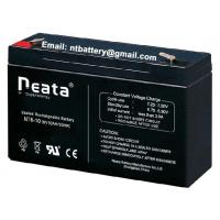 lead acid 14AH 6v rechargeable battery for emergency lighting