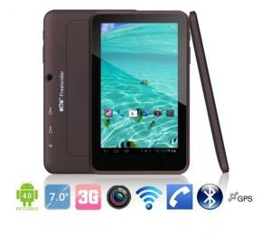 China 7inch Freelander PD10 3G android tablet pc MTK 6577 1.5GHz 8GB Bluetooth HDMI GPS Dual SIM on sale