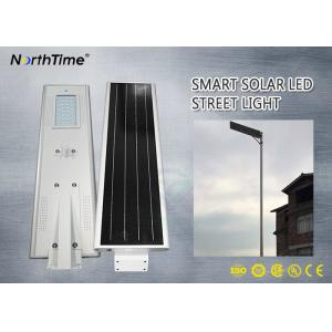 China New Design 30W 26AH Integrated Solar Street Light with IP Camera For Parking Lots on sale