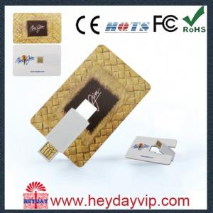China promotional OEM plastic 4GB business credit card USB 2.0 on sale