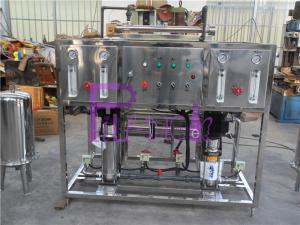 China Small Type Fiberglass Water RO System For Bottle Water Production Line on sale