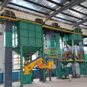 China Large Green Sand Moulding Machine  / Green Sand Molding Machine Reclamation Production Line on sale