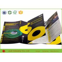 Eco Friendly Business Brochure Printing , 200Gsm Coated Paper Color Catalog Printing
