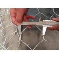 Hot-dipped Galvanized Hexagonal Chicken Wire Mesh with 0 . 5 mm Wire Diameter and 25 mm Aperture