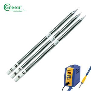 China Lead Free Automatic Soldering Robot Tips T12-BC1 Series Stainless Color on sale