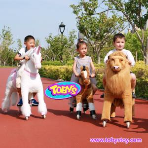 China Tobys Pony Cycle Ride on horse toy with wheels on sale