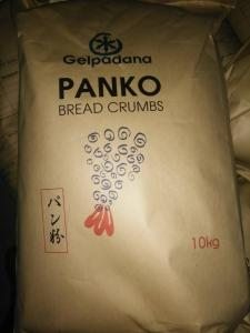 China 10kgs Panko Bwhole Grain Bread Crumbs 5-6mm , Whole Wheat Italian Bread Crumbs on sale