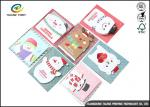 Personalised Recycled Gaphic Paper Greeting Cards For Craft Gifts CMYK Color