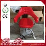 Hair Salon Styling Chairs Used Barber Shop Equipment Antique Red Barber Chair