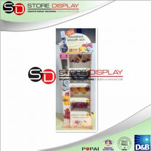 China Health care easy assembling point of sales corrugated cardboard  display on sale