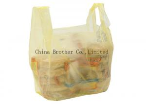 China LDPE / HDPE Personalized Retail Bags Die Cut Handle With Custom Printing on sale