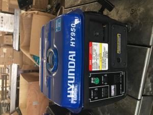 Quality 450-650 Watt Hyundai Electric Start Generator Small Silent 4.2L Fuel Tank for sale