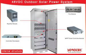 China 220VAC Off Grid 48V DC Power Supply Solar with Solar Panel / Solar Cabinet / MPPT/220VAC Off Grid 48V DC Power Supply So on sale