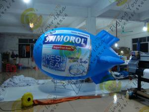 China Customized Inflatable Advertising Helium Zeppelin Durable For Trade Show on sale
