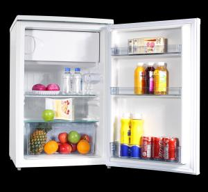 China Compact Under Counter Mini Fridge For Bedroom Adjustable Slide - Out Shelves on sale