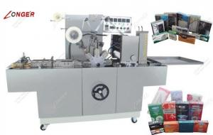 China Automatic Condom Box Wrapping Machine |Perfume Wrapping Machine for Sale on sale
