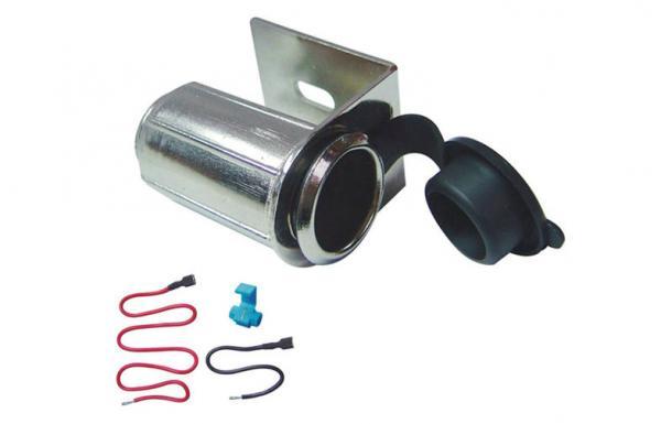 Metal car cigarette socket adapter 12v dc 10a auxiliary power metal car cigarette socket adapter 12v dc 10a auxiliary power socket images sciox Gallery