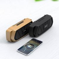 China gadgets electronic double speakers portable bluetooth speaker handfree with TF card customized logo on sale