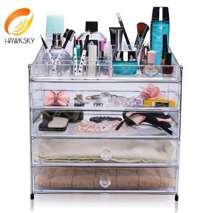 Makeup organizer acrylic Makeup storage containers jewelry display