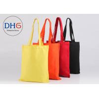 Lightweight Cotton Canvas Tote Bags Personalized Fade Resistant Easy Cleaning