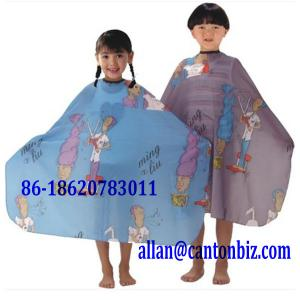 China Children Hair Cutting Apron on sale