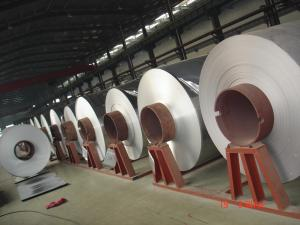 Quality Mirror Embossed Aluminum Coil Polish Finished 6061 Thickness 0.2 - 3.0 mm for sale