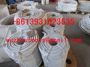 China Solid braided Poly rope braided rope diamond braid rope on sale