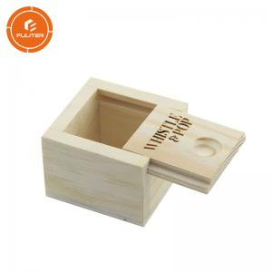 China Custom Decorative Wooden Boxes Handmade Wooden Craft Boxes For USB on sale