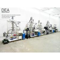 China Short Path Essential Oil Distillation Equipment / Wiped Film Evaporator on sale