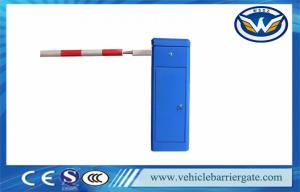 China OEM 6 Meters Auto Barrier Gate System Factory Entrance Gate In Blue on sale