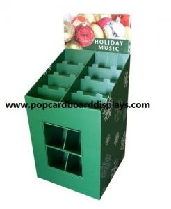China Christmas Promotional Colorful Pop Cardboard Pallet Display with strong structure on sale