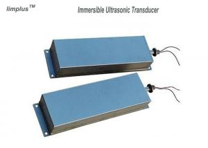 China Submersible Multi Frequency Ultrasonic Transducer Stainless Steel Movable on sale