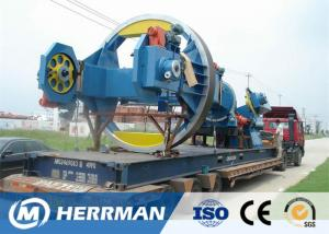 China Drum Twister Type HV Cable Armouring Machine 130 Max Cabling OD Energy Efficient on sale
