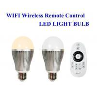 E27 E26 B22 Wifi smart led light bulbs for pad / phone controlled 30 meters