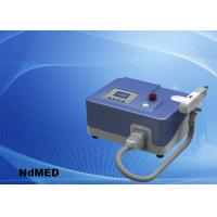 Portable Tattoo Removal Laser Equipment , ND Yag Laser Tattoo Laser Removal Machine