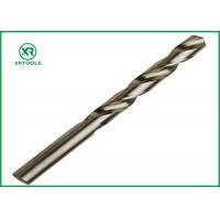 Bright Finish HSS Drill Bits For Hardened SteelDIN 338 Straight Shank Left Hand