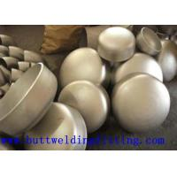 China 1 3/4'' ANSI B16.9 BW Stainless Steel Pipe Cap , Wall Thickness 2mm - 300mm on sale