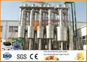 China Full Automatic Complete Fresh Buleberry Jam Production Line CFM-S-01 on sale