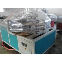 PVC Twin Pipe Extruder , Plastic Pipe Extrusion Line / Machinery