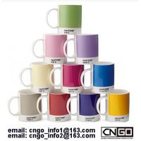 GIFTS cup PANTONE colors mug to your friend NO.54577 from china factory