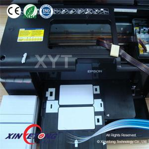 China waterproof Printable  inkjet PVC Card For Epson and Canon printer on sale