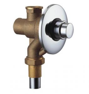 """China Wall-Mounted Concealed Toilet Self-Closing Flush Valve With Button Switch , 3 - 5"""" on sale"""
