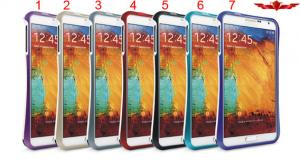 China 100% Qualify Brand New Colorful Aluminum Bumper For Samsung Galaxy Note 3 Gift Box Include on sale