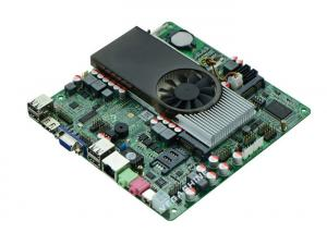 China Atom D2700 CPU all in one PC Motherboard 2COM , 8USB2.0 NVIDIA GT520 graphics card on sale