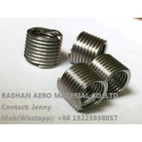Manufacture supply superior quality wire thread insert stainless steel screw thread coils with superior quality