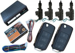 China 4pcs Actuators Car Center Lock System , Trunk Release Output Central Locking Kits With Remote on sale