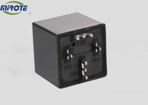 China Small Black Micro  PCB Type 4 Pole Relay 12v  Miniature Power Auto Truck on sale