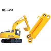 Heavy Duty High Pressure Hydraulic Cylinder Dual Stage For Industrial Crane Excavator