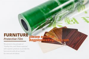 China Clear Polythene PE Protective Stretch Film,PE Surface Protective Film For Aluminium Composite Panel,removable lens scree on sale