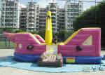 7x4 meters children pirate ship inflatable bouncer with EN14960 certified made of lead free material